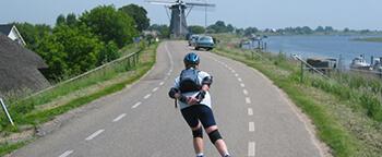 skeelerroutes in Nederland